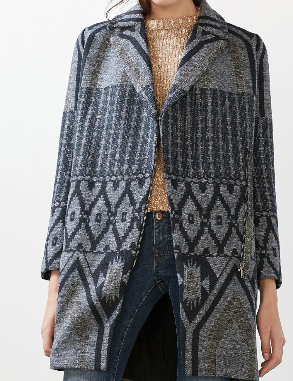 manteau laine esprit