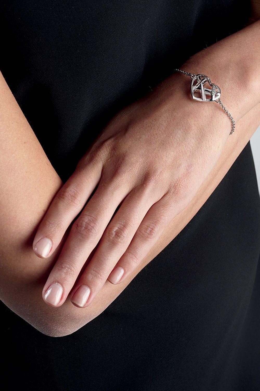 bracelet coeur guess