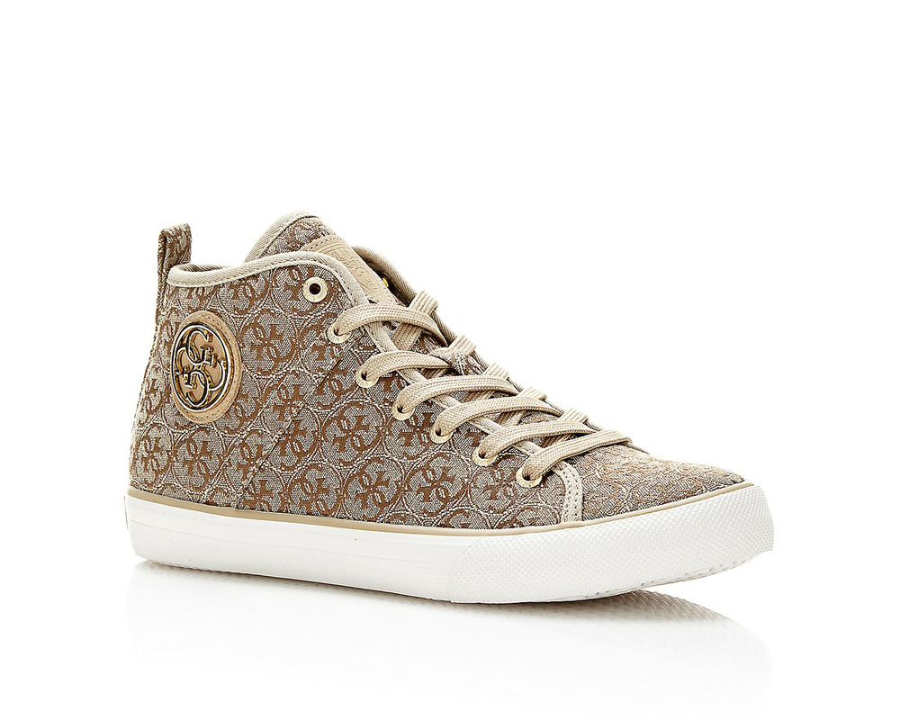 sneakers montantes guess